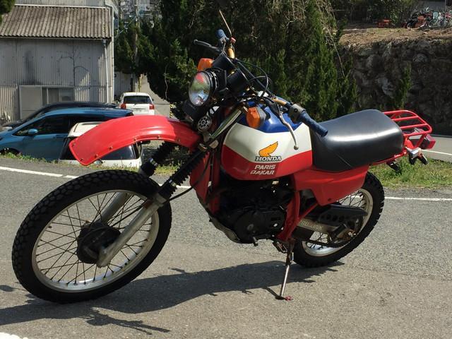 ホンダ XL250Rパリダカの画像(福岡県