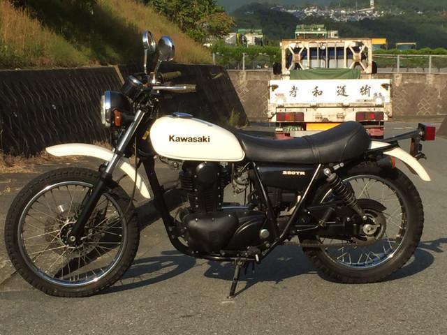 カワサキ 250TR社外マフラーの画像(福岡県