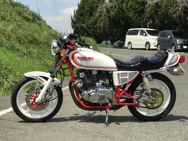 スズキ GS400フルカスタムの画像(福岡県