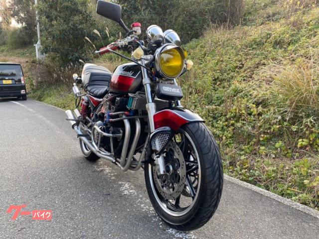 カワサキ ZEPHYR400 カスタム キャストホイールの画像(福岡県