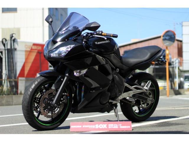 カワサキ Ninja 400R BEETフルエキ 他カスタム グーバイク鑑定車の画像(福岡県
