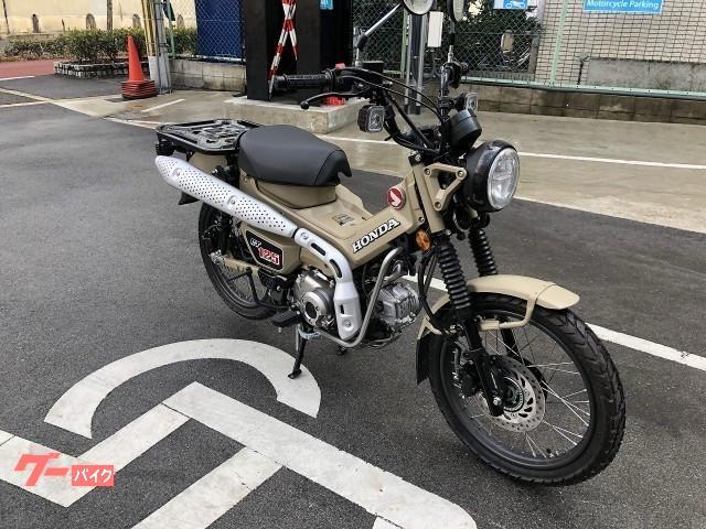 ホンダ CT125ハンターカブ ABS 現行モデル MLHJA55 インポートの画像(福岡県