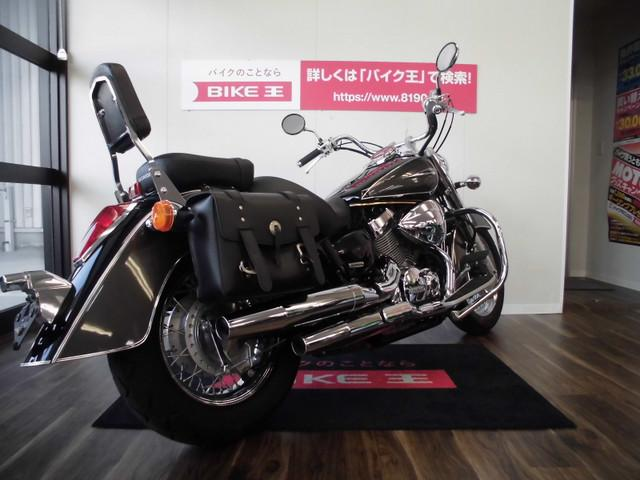 ホンダ シャドウ400クラシック エンジンガード バックレスト サドルバック付きの画像(福岡県