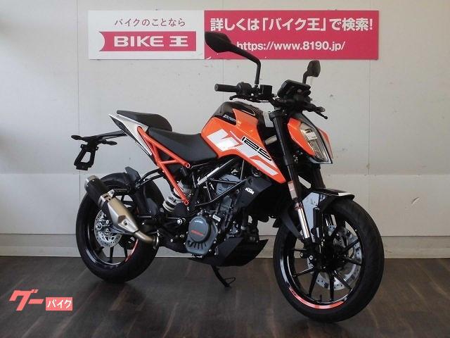 KTM 125デューク LEDヘッドライト TFTディスプレイメーター ノーマル車輌の画像(福岡県