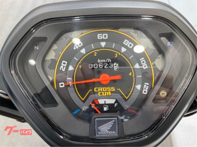 ホンダ クロスカブ110 2018年モデル LEDヘッドライト スペアキー&取説ありの画像(福岡県