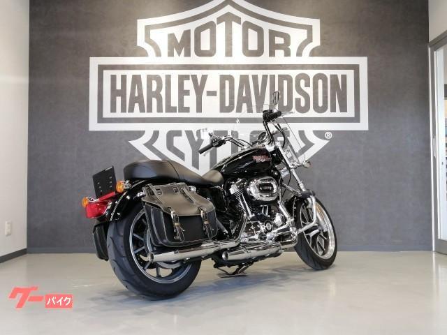 HARLEY-DAVIDSON XL1200T スーパーロー 2015年モデル カスタムサドルバッグ マスタッシュガードの画像(福岡県