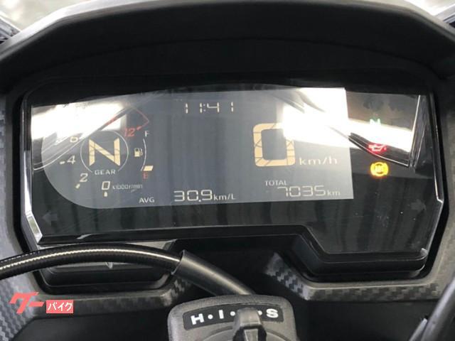 ホンダ CBR400R ABS 2019年モデル NC56 グリップヒーター アクセサリーバー フルカウルスポーツの画像(福岡県