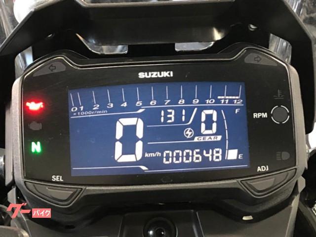 スズキ V-ストローム250 2017年モデル 3点パニア エンジンガード ハンドガード スペアキー&取説ありの画像(福岡県
