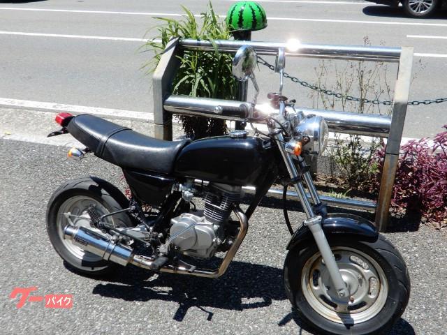 ホンダ Ape100 BEAMSマフラー 社外キャブ HC07の画像(福岡県