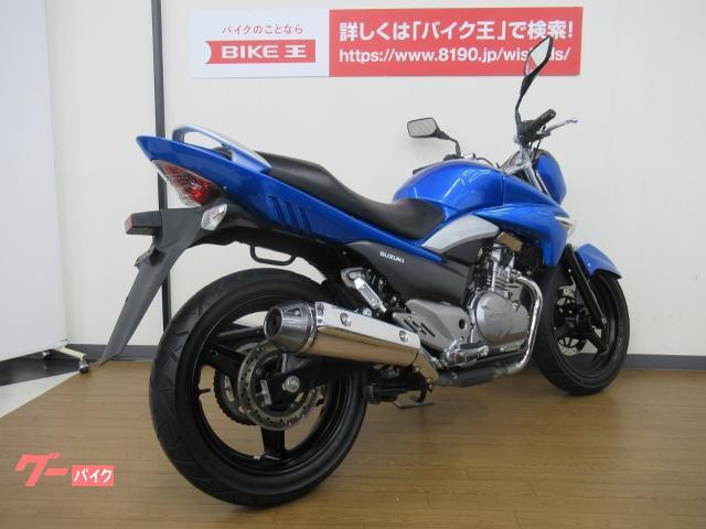 スズキ GSR250 水冷ツインネイキッド ブルーメタリックの画像(福岡県