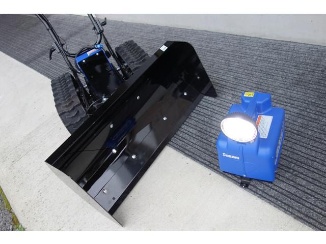 除雪機 除雪機の画像(山形県