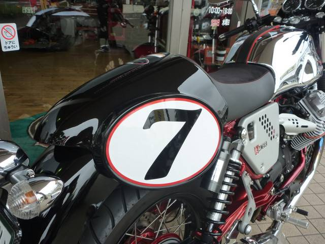MOTO GUZZI V7レーサーの画像(宮城県