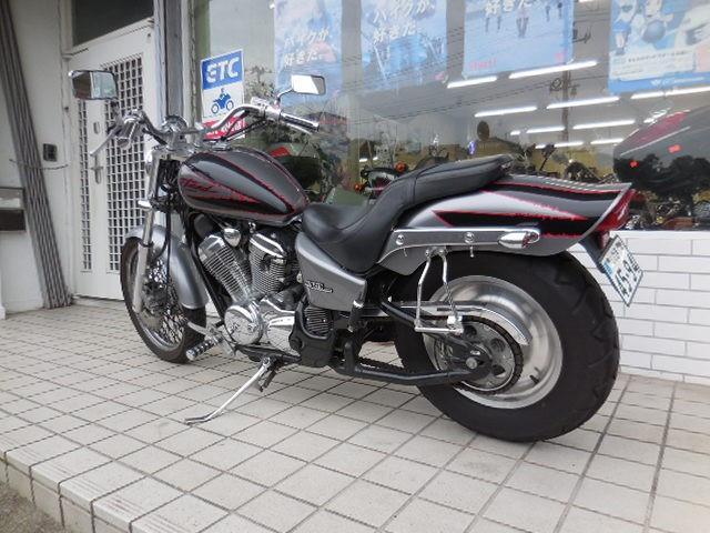 ホンダ スティード400VSE カスタム マフラー付の画像(福島県