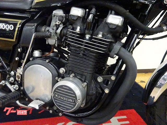 カワサキ Z1000MKII アメリカリンカーン工場 オイルクーラー モナカ管装備の画像(宮城県