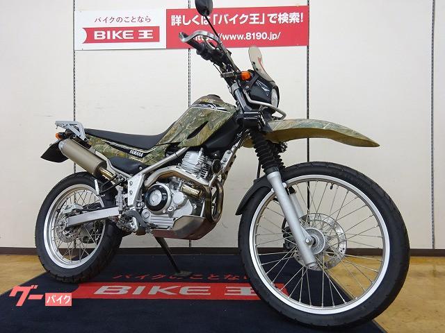 ヤマハ セロー250 25th記念モデル REALTREE FMFマフラーの画像(宮城県