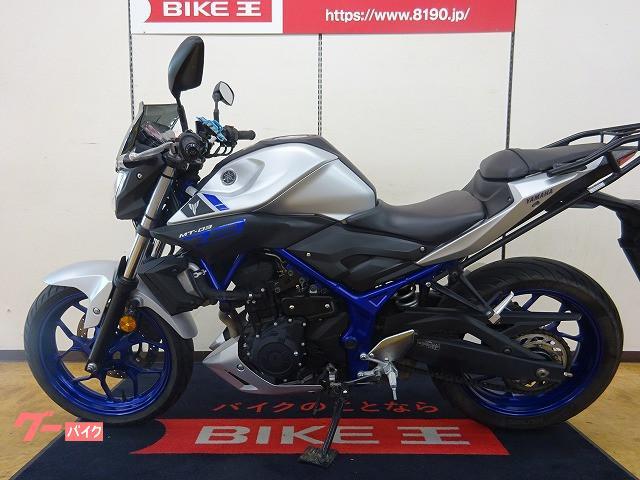 ヤマハ MT-03(320cc) ワンオーナー リアキャリアの画像(福島県