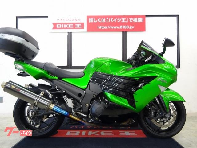 Ninja ZX−14R NOJIMAマフラー TRICKSTARエンジンスライダー
