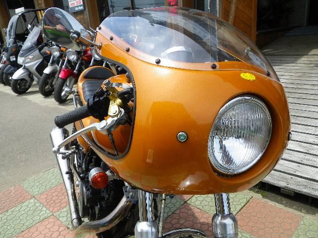 ヤマハ SR400 ペイントンプレイスフルカスタム カフェレーサー No1693の画像(秋田県