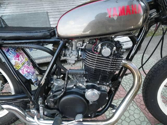 ヤマハ SR400 ボバースタイル チョッパーフルカスタム No1695の画像(秋田県