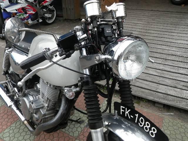 ヤマハ SR400 カフェスタイル No1944の画像(秋田県