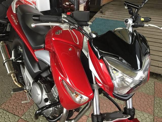 スズキ GSR250 エンジンガード ビームスマフラー装着 No2192の画像(秋田県