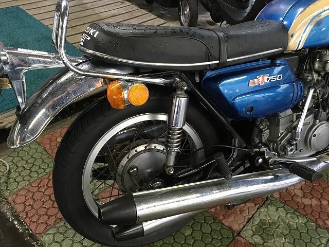 スズキ GT750 B1型 国内1オーナー 昭和48年初度登録 No2220の画像(秋田県