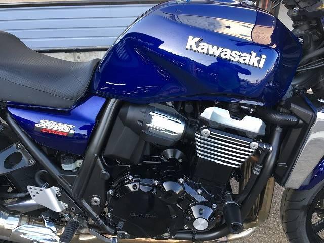 カワサキ ZRX1200 DAEG エンジンスライダー スクリーン装着 No2234の画像(秋田県