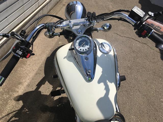 ヤマハ ドラッグスター250 VG05J 社外マフラー No2321の画像(秋田県