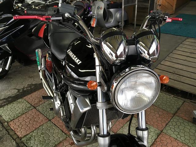 カワサキ BALIUS-II RPMマフラー アップハンドル No2468の画像(秋田県