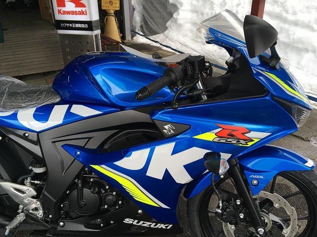 スズキ GSX-R125 ABS 新車 No2483の画像(秋田県