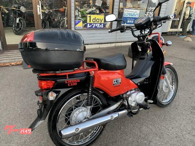 ホンダ クロスカブ110 JA10 リヤボックス装着 No2960の画像(秋田県