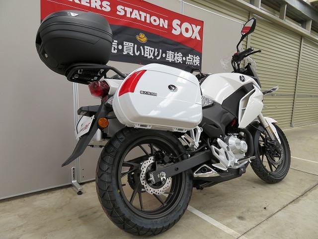 ホンダ CBF190XパニアケースTOPボックス付の画像(宮城県
