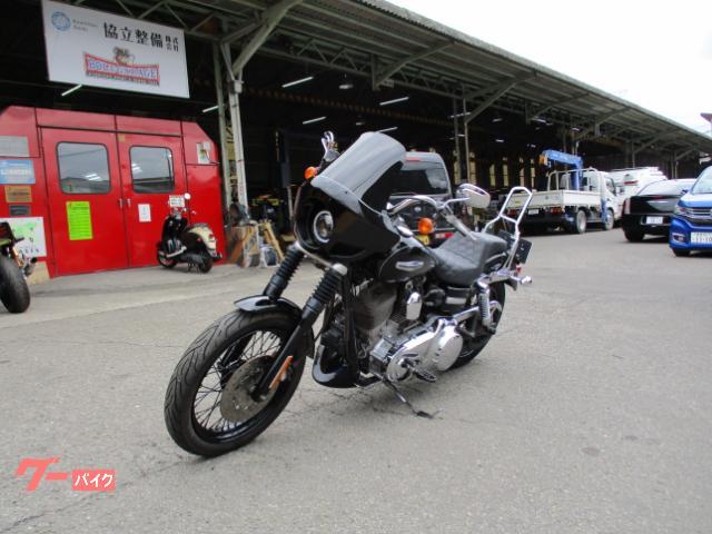HARLEY-DAVIDSON FXDC スーパーグライドカスタム1580 クラブスタイル 社外マフラー フェアリング シート CCバー LEDライト ステップ他の画像(愛媛県