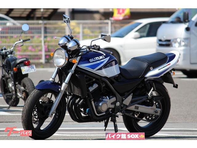 スズキ GSX250FX 2003年モデル アサヒナレーシングマフラーの画像(愛媛県