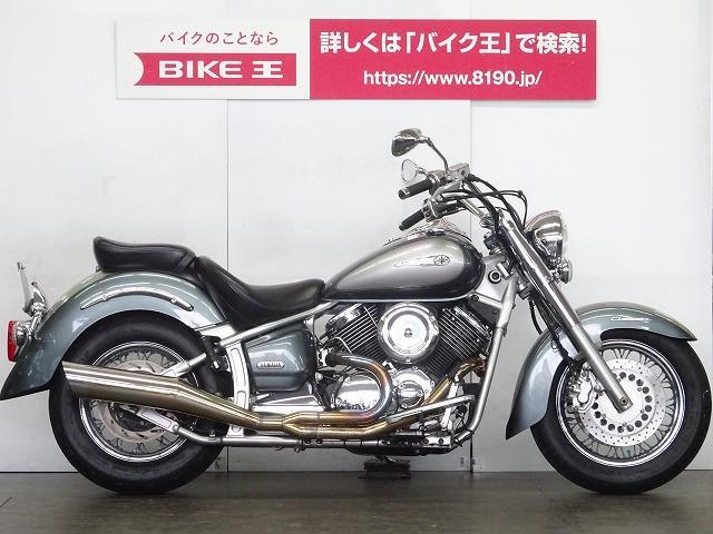 ヤマハ ドラッグスター1100クラシック 公認マフラーの画像(埼玉県