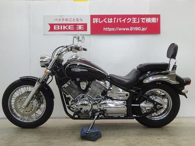 ヤマハ ドラッグスター1100 バックレスト セキュリティアラーム付きの画像(栃木県