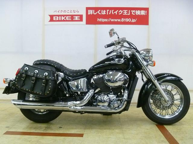 ホンダ シャドウ400 タックロールシート サイドバッグの画像(埼玉県