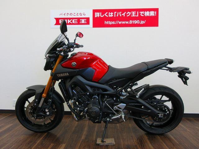 ヤマハ MT-09 スクリーン付きの画像(静岡県