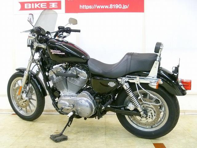 HARLEY-DAVIDSON XL883 バックレスト・スクリーンの画像(埼玉県