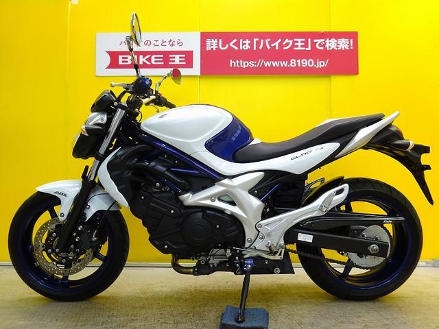 スズキ グラディウス400 ABS付き ステップ・チェーンカバーカスタムの画像(茨城県