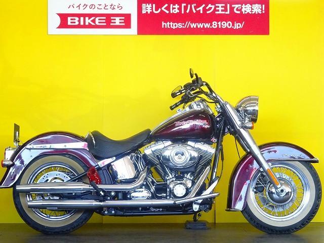 HARLEY-DAVIDSON FLSTN ソフテイルデラックス オールペイント カスタムの画像(埼玉県