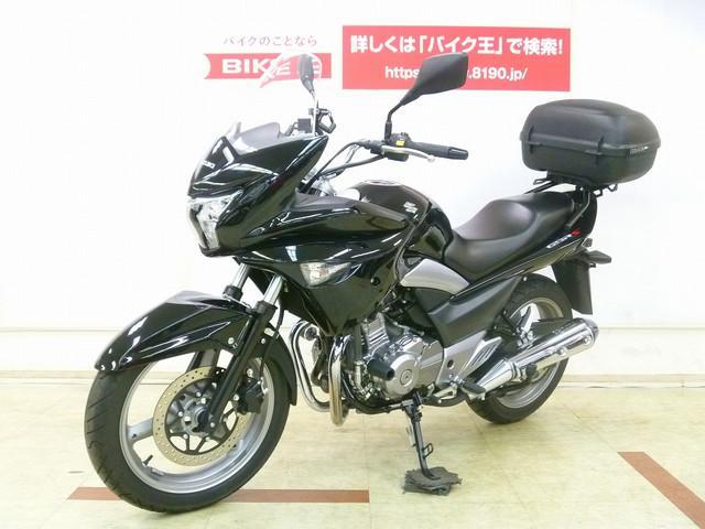 スズキ GSR250S リアボックス スライダー メットホルダーの画像(埼玉県