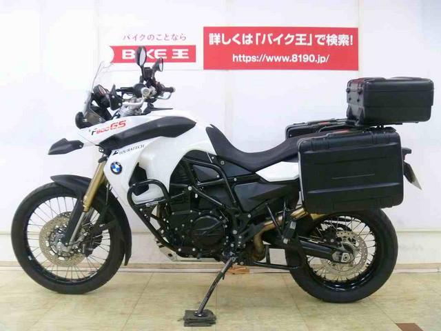 BMW F800GS フルパニア エンジンガード ハンドガードの画像(埼玉県