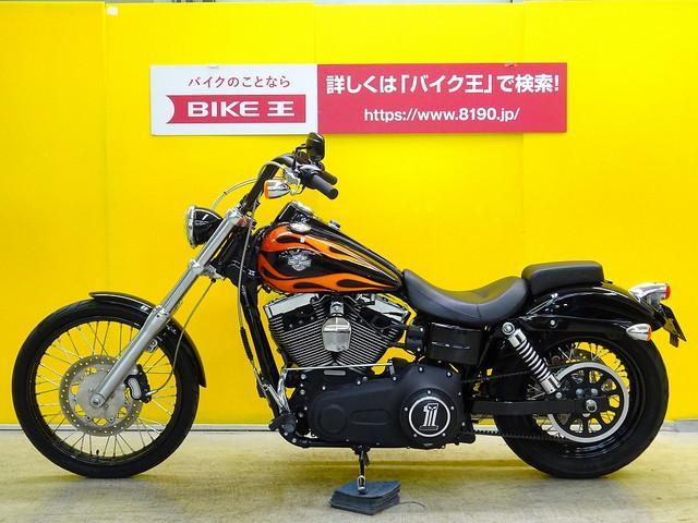 HARLEY-DAVIDSON FXDWG ワイドグライド ワンオーナー ハンドルカスタムの画像(栃木県