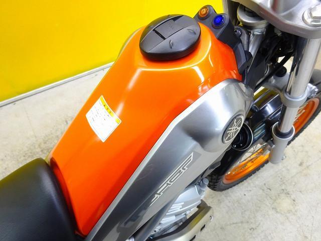 ヤマハ トリッカー インジェクションモデル ナックルガード・リアキャリア装備の画像(栃木県