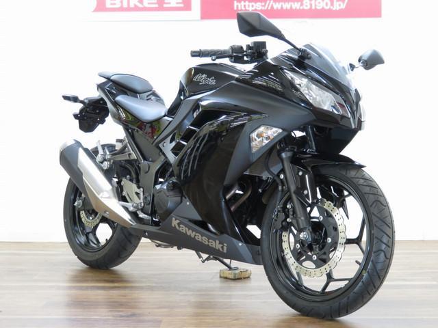 カワサキ Ninja 250 ヘルメットホルダー装備 ノーマルの画像(茨城県