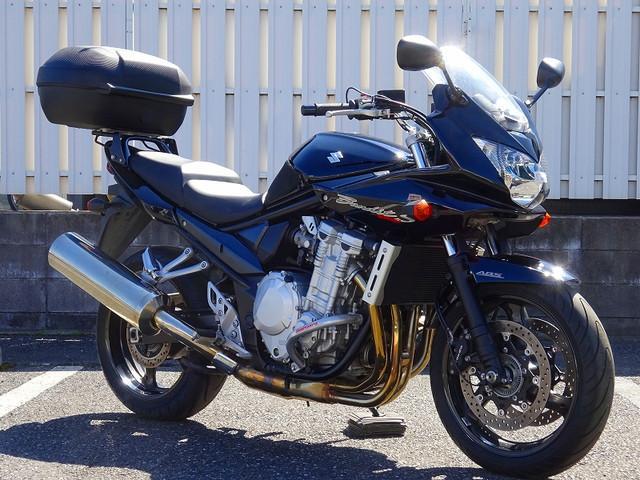 スズキ Bandit1250S 1オーナー エンジンガード トップケースの画像(埼玉県