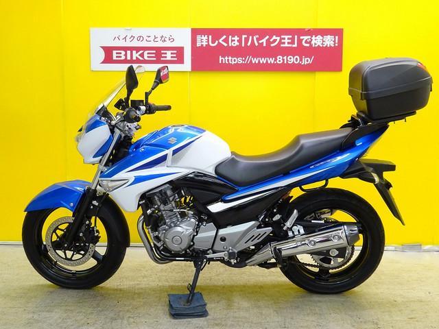 スズキ GSR250 ワンオーナー リアボックス・スクリーン装備の画像(栃木県