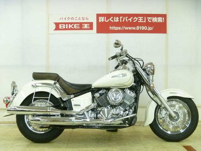 ヤマハ ドラッグスター400クラシック フォグランプ サドルバックサポートの画像(埼玉県