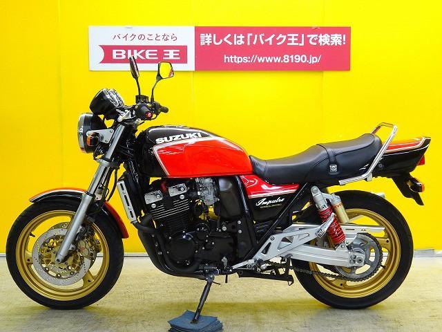 スズキ GSX400インパルス ファイナル外装 WR'Sマフラー装備の画像(栃木県